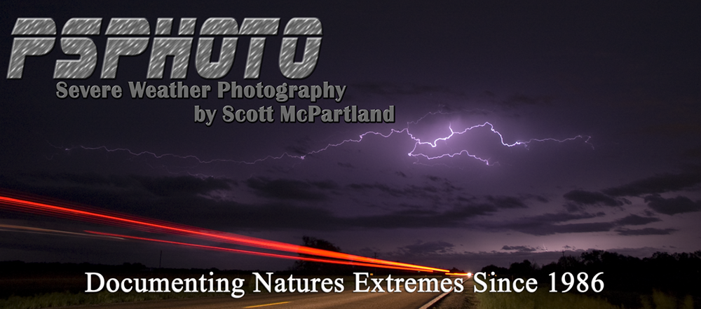 Tornado Videos, Hurricane & Storm Photography by Scott McPartland